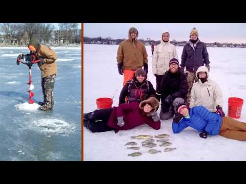 Experience Ice Fishing In Wisconsin