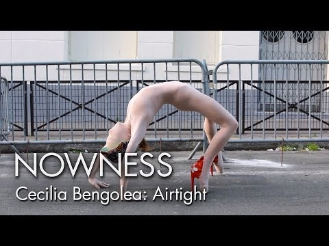 """Cecilia Bengolea in """"Airtight"""" by Clara Cullen"""