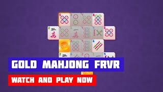 Gold Mahjong FRVR · Game · Gameplay