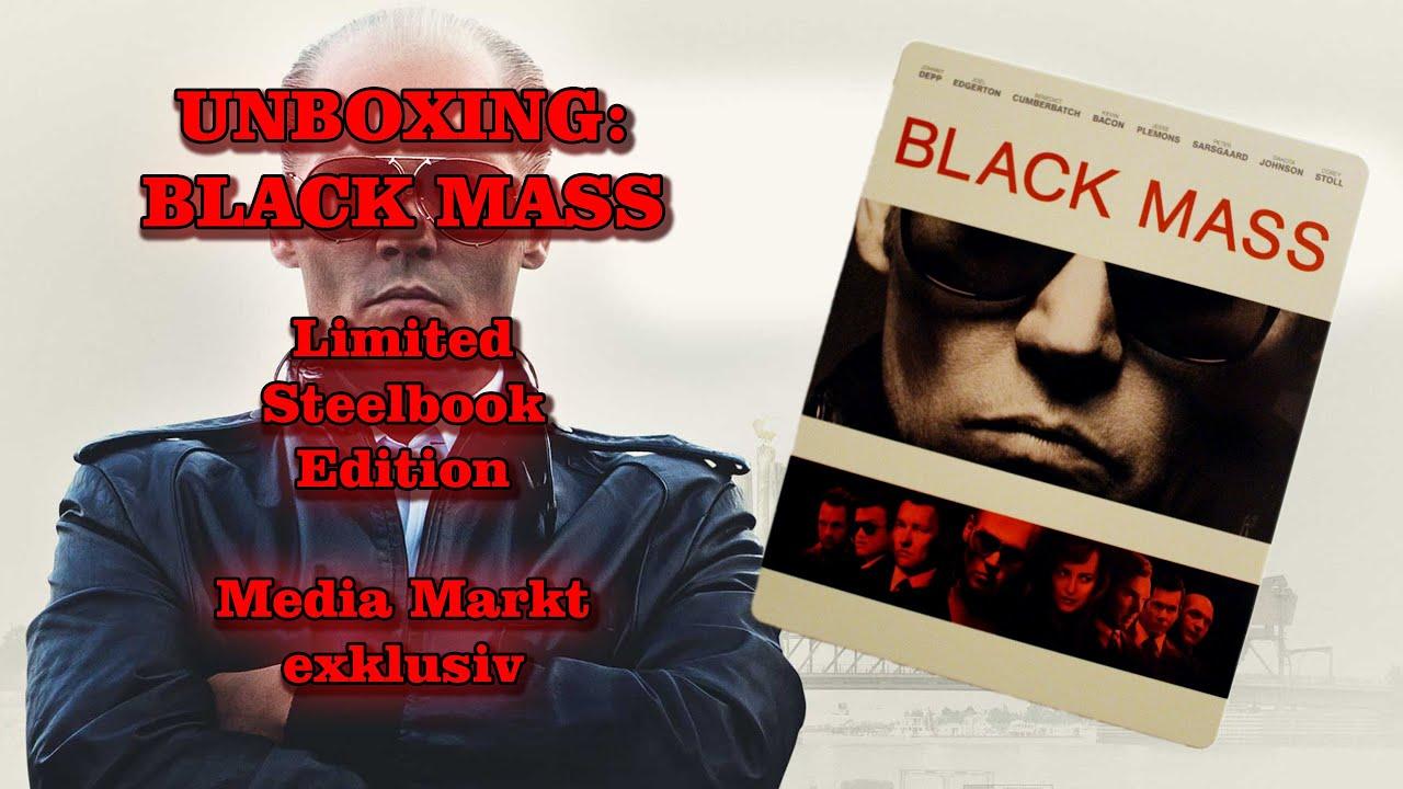 Unboxing - Black Mass - Limited Steelbook Edition - Media Markt exklusiv