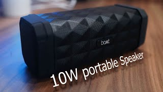 boAt Stone 650R portable 10W speaker 1800 mAh battery backup