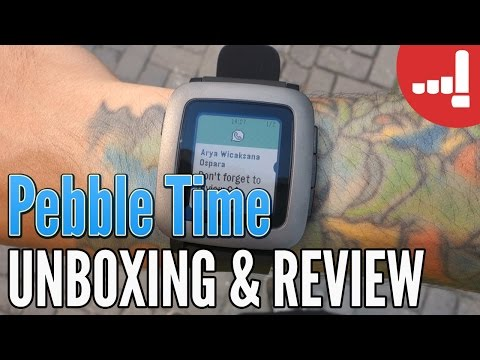 Pebble Time Smartwatch Review & Unboxing