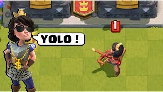 Funny Moments, Glitches, Fails, Wins and Trolls Compilation #27 | CLASh ROYALE Montage