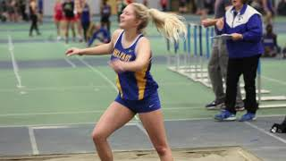 Indoor Track meet at Colby College 12/8/18