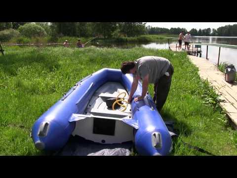 WINboat 360 Sprint неторопливая сборка за 9 минут!