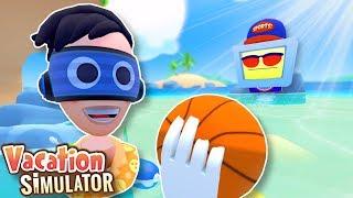 HUMAN FROM JOB SIMULATOR GOES ON VACATION! - Vacation Simulator VR Gameplay