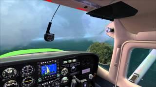 Cessna 207 off Timaru, New Zealand