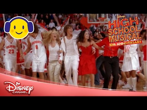 High School Musical  Were All In This Together SingaLong 🎤   Disney Channel UK