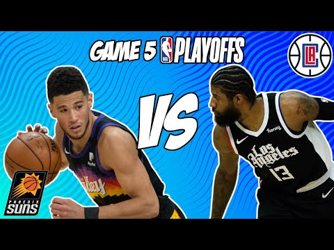 Phoenix Suns vs Los Angeles Clippers Game 5 6/28/21 NBA Playoff Free NBA Pick & Prediction