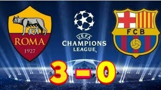 AS ROMA VS BARCELONA ( 3-0 ) 10/4/2018 #-FULL Highlight
