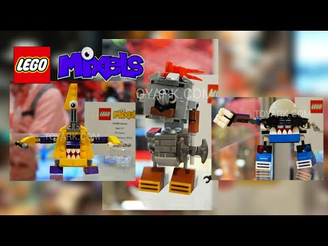 LEGO Mixels 2016 sets revealed at Comic Con!