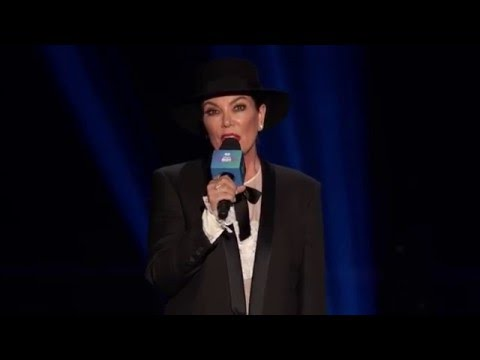 Kris Jenner gets booed by crowd introducing Culture Club at iHeart Radio 80's Party
