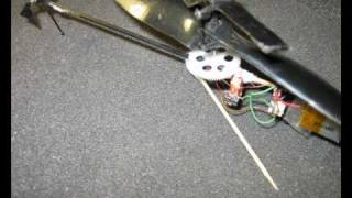 Homemade brushless micromotor in The micro helicopter