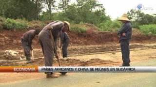 Países africanos y china se reúnen en Sudáfrica