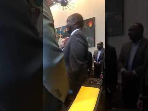 Cérémonie de distinction du journal l intelligent d Abidjan  à  New  York - Hotel Novotel
