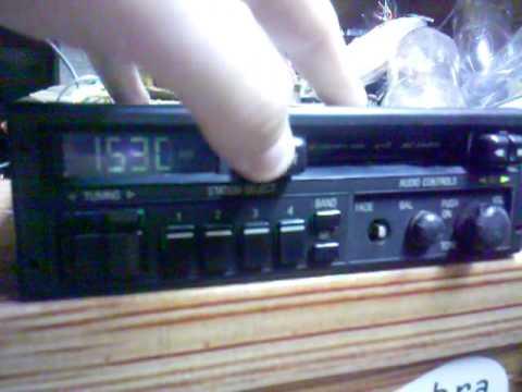Radio AC DELCO Original GM Teste