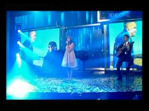 Chloe Coyle and phil Coulter singing 'A Bird Without Wings' New Year's Eve Night