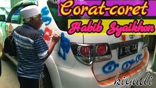 Corat coret Habib Syaikhon, pada mobil Wan Juraq