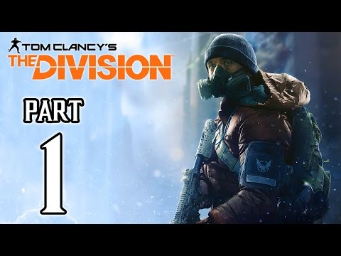 The Division Walkthrough PART 1 (PS4) No Commentary Gameplay @ 1080p HD ✔