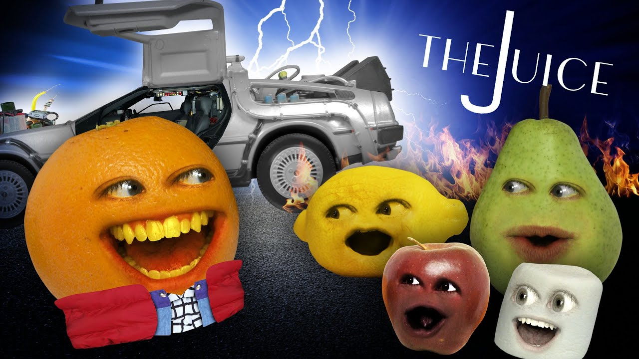 Annoying Orange - The Juice #9: TIME TRAVEL!!