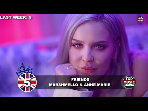 Top 40 Songs of The Week - March 10, 2018 (UK BBC CHART)