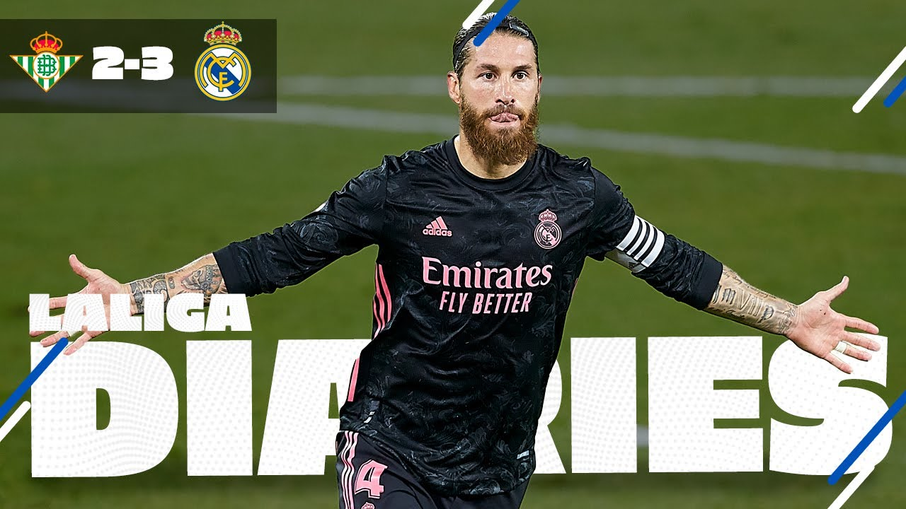 🙌 Betis 2-3 Real Madrid | Ramos' late Panenka & first LaLiga win!
