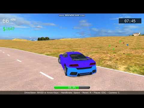 X Tension Gamerz play car crash game  