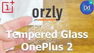 OnePlus 2 Orzly Tempered Glass Screen Protector Review & Test in 4K