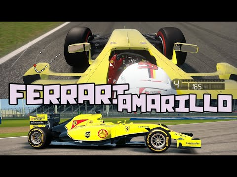 YELLOW FERRARI - FERRARI AMARILLO SF15-T | F1 2015