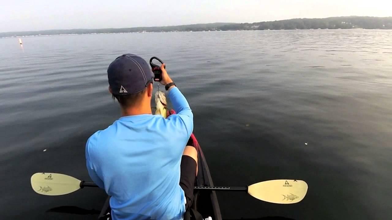 Light tackle kayak fishing beginners tutorial youtube for Beginner fishing kayak