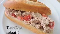 Resepti: helppo ja nopea tonnikalasalaatti