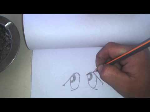 Dibujar anime triste fcil para principiantes  YouTube