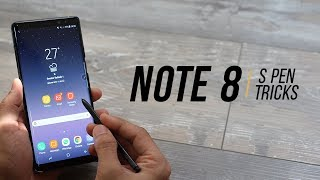 Galaxy Note 8 - Top S Pen Tips and Features