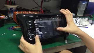 Pure Android 6.0 Car/Auto Car DVD Player/Multimedia Function Demo Nissan X-trail/Qashqai