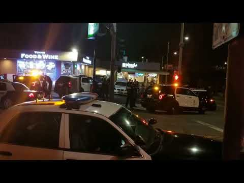 mother report Stolen car to lapd pacific division on her son at venice beach