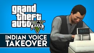 """GTA 5 Online Indian Voice Takeover #16 """"NO NOT BROTHER SANJIV"""" (GTA 5 Next Gen Voice Trolling)"""