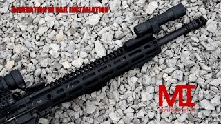 How to Install a Midwest Industries Generation 3 Rail for AR-15
