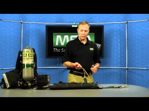MSA Rescue Belt II System for the FireHawk M7 SCBA