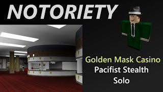 ROBLOX Notoriety: GMC Perfect Pacifist Stealth