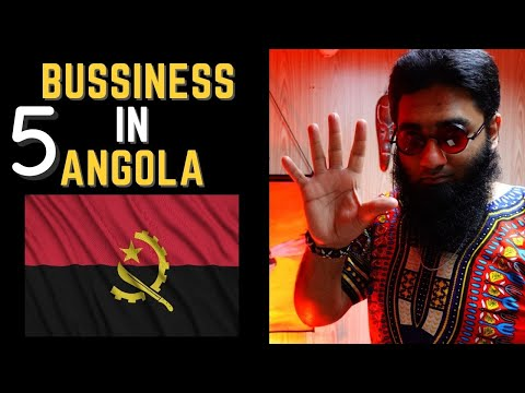 5 Business to Start in 🇦🇴 Angola!