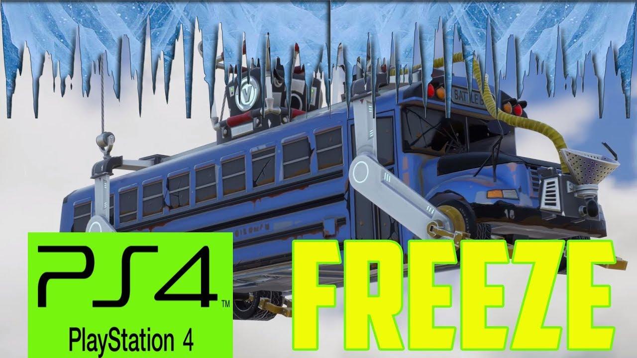 Fortnite Screen Freeze Fix for PS4 2018