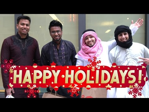 HOLIDAY MUSLIMS!