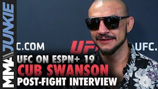 UFC Tampa: Cub Swanson post fight interview