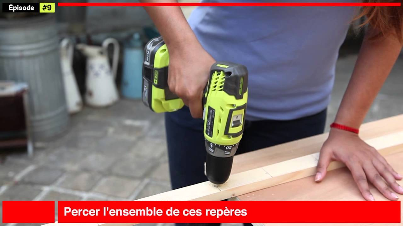 Fabriquer un porte buches youtube for Porte interieur complete