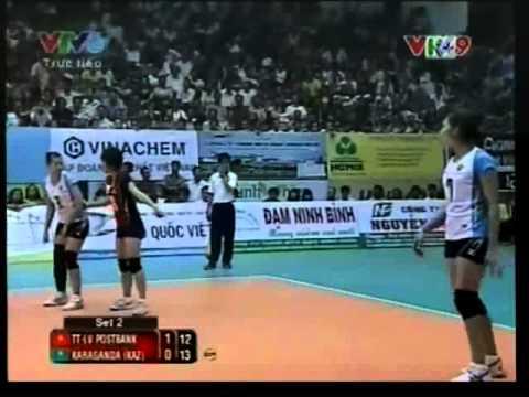 Thong Tin LienViet PostBank vs Karganda ( Chung Ket VTV Binh Dien Cup 2013) _ 1