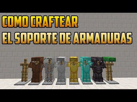 Como Hacer Soporte De Armadura (Minecraft 1.14.4)/Tutorial