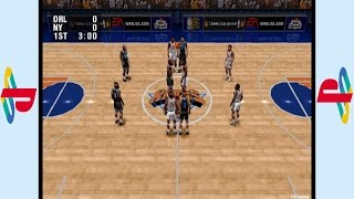 PS1 - NBA Live 96 Gameplay