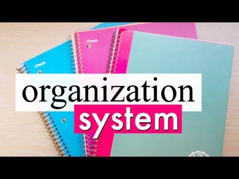 School Organization System for IB | Back to School 2017