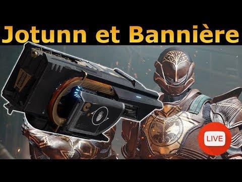 Destiny 2 : Loot du Jotunn (try) puis Bannière ! [PS4] thumbnail