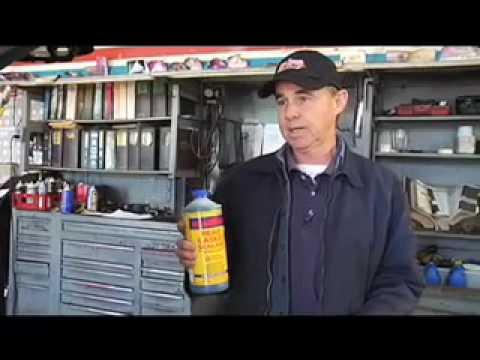 BlueDevil sealant demonstration